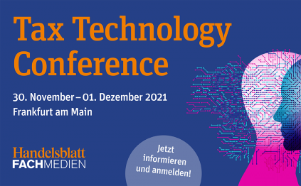 Tax Technology Conference 30.11.2021 – 01.12.2021